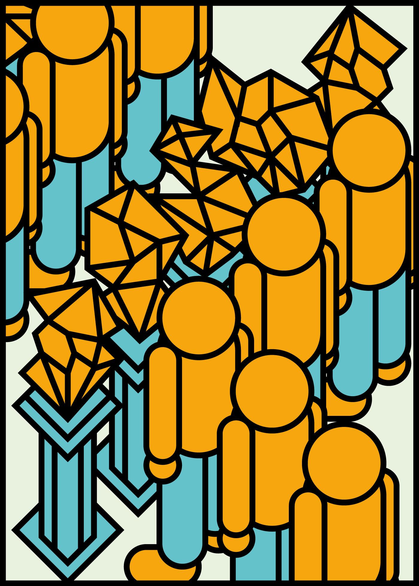 Jari Johannes Blank Poster