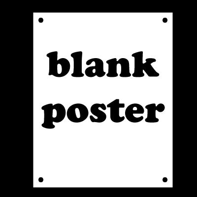 BLANK POSTER DUMP